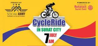 Cycle Ride 2019 in Surat City - Date and Venue Details