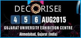 DECORISE 2015 Ahmedabad - National Exhibition Covering Decoration, Catering of Related Industry