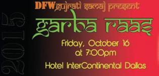 DFW Navratri Raas Garba 2015 at Hotel Intercontinental Dallas Addition TX USA
