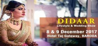 DIDAAR Lifestyle & Wedding Exhibition 2017 in December at Baroda - Venue Details