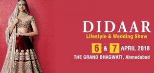 DIDAAR Lifestyle & Wedding Exhibition 2018 Ahmedabad - Date and Venue Details