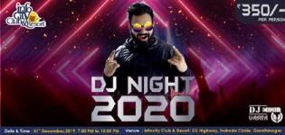 DJ Night 2020 in Gandhinagar at Infocity Club & Resorts on 31st December