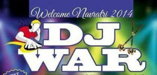 DJ WAR 2014 in Rajkot Gujarat by Madhuram Club and Jyoti Club Rajkot