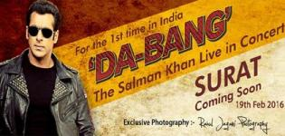 Da-Bang Salman Khan Live in Concert 2016 Surat Gujarat at DRB Sports Complex