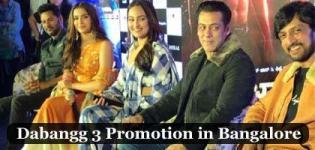 Dabangg 3 Promotion in Bangalore - Salman Khan, Sonakshi, Saiee, Prabhu Deva & Sudeep