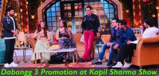 Dabangg 3 Promotion Kapil Sharma Show - Salman Khan with Dabangg 3 Stars
