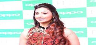 Daisy Shah in Surat Gujarat to Launch Oppo F1 Selfie Expert at Poddar Arcade