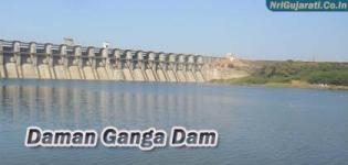 Daman Ganga Dam on Damanganga River in Valsad Gujarat - History - Details � Photos
