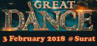 Dance Audition for Great Dance Movie 2018 on 3rd February in Surat