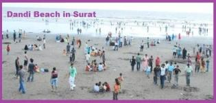 Dandi Beach in Surat Gujarat India