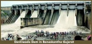 Dantiwada Dam in Banaskantha Gujarat - History - Information - Photos
