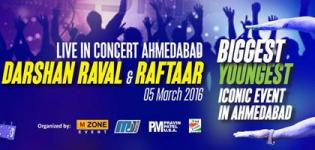 Darshan Raval and Raftaar Live Concert 2016 in Ahmedabad at Kensville Golf Academy