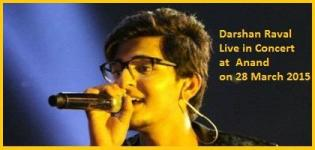 Darshan Raval Live in Concert 2015 at Anand India on 28 March
