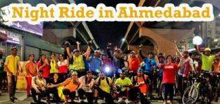 Decathlon Night Ride 3.0, Event for Cycle Ride During Night in Ahmedabad City