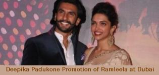 Deepika Padukone Promotion of Ramleela at Dubai