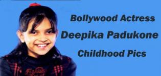 DeepikaPadukoneChildhood Pics - Bollywood Celebrity Rare Childhood Photos - Bollywood Actress Childhood Pictures