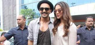 Deepika Padukone and Ranveer Singh Promotes Bajirao Mastani Movie 2015 - Latest Photos