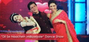 Deepika Padukone & SRK at 'Dil Se Naachein Indiawaale' Dance Show 2014 in Ahmedabad