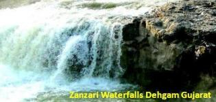 Dehgam Waterfalls near Ahmedabad - Location Zanzari Waterfalls Gujarat