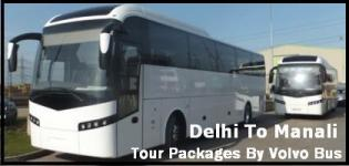 Delhi to Manali Tour and Travel Packages by Volvo Bus