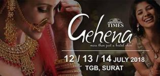 Designer Jewellery and Bridal Jewellery Exhibition by Times Gehena Surat in this July