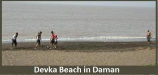 Devka Beach in Daman India - Famous/Best Devka Beach Daman - Images/ Photos/Pics