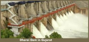 Dharoi Dam in Sabarkantha Gujarat India - History - Information - Details - Photos