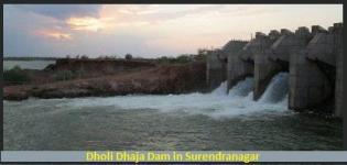 Dholi Dhaja Dam in Surendranagar Gujarat
