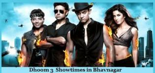 Dhoom 3 Showtimes Bhavnagar -Show Timing Online Booking in Bhavnagar Cinemas Theatres