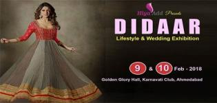 Didaar Lifestyle and Wedding Exhibition Event Ahmedabad 2018 Date Venue Details