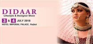 Diddar Lifestyle and Designer Exhibition 2018 Arrange for all People in Rajkot