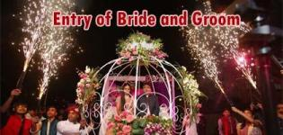 Different Entry Ideas at Wedding Place for Bride and Groom in their Marriage Ceremony