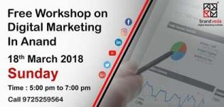 Digital Marketing Workshop 2018 in Anand at Bakrol Square - Date and Details