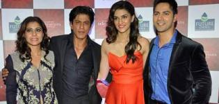 Dilwale Movie Promotion at Saas Bahu Aur Saazish Annual Anniversary Party Pics 2015