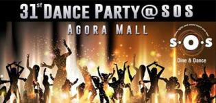 Dine and Dance 31st December Party 2016 at Balaji Agora Mall in Gandhinagar
