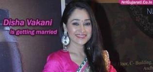 Disha Vakani (Daya Bhabhi) from Tarak Mehta Ka Ooltah Chashmah Comedy Serial is Getting Married