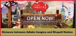 Distance between Adlabs Imagica and Khopoli Station