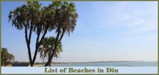 List of Beaches in Diu - Diu Beaches
