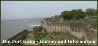 Diu Fort History Timings India - Images Pictures Photos Pics