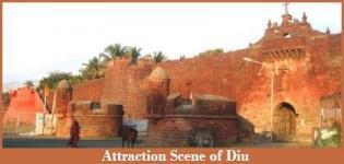 Attraction Scene of Diu - Diu Scene in India