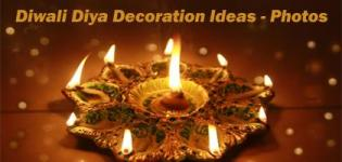 Diwali Diya Decoration Ideas - Creative Craft Latest Diva Designs for Deepavali Images Recent Pictures