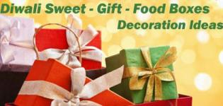 Diwali Sweet/Food/Gift Box Designs - Creative Deepavali Gifting Boxes Decoration Ideas Images Pictures