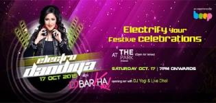Dj Barkha Kaul in Chennai at The Park for Electro Dandiya Navratri 2015