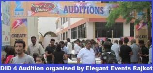 Dance India Dance Season 4 Audition Rajkot organized by Elegant Events Rajkot