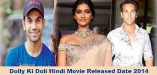 Dolly Ki Doli Hindi Movie Release Date 2014 - Star Cast & Crew