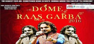 Dome Raas Garba 2016 with Parthiv Gohil at Dome NSCI SVP Stadium Mumbai