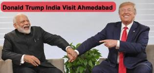 Donald Trump India Visit Ahmedabad - Namaste Trump Event 2020