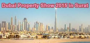 Dubai Property Show 2015 in Surat at TGB DUMAS Road by Nishit Ambalia on 20 September