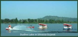 Dudhani Dam in Silvassa Gujarat - Water Sports Centre in Dudhni Lake Gujarat