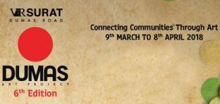 Dumas Art Project 2018 in Surat - 6th Edition of Dumas Art Project at VR Surat